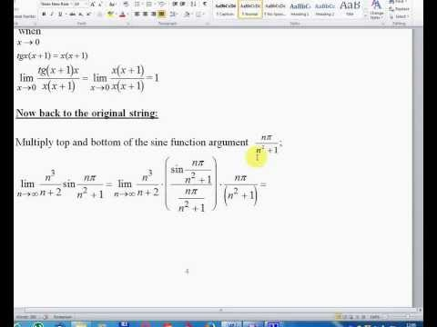 Lesson number four - Mathematical Analysis, Volume I