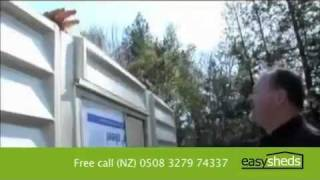 EasySheds - How to build a garden shed