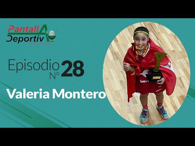 Valeria Montero Piña🏀: Cuando el talento viene de familia |PD Podcast 28