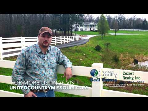 Country Home For Sale Near West Plains, Missouri   Howell County   Ozarks