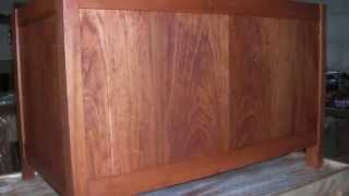 CHERRY HOPE CHESTS---MAKE ANY SIZE--Step by step pictures