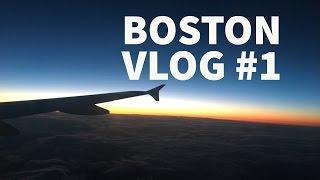 Boston Vlog - #1