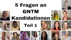 5 Fragen an GNTM Kandidatinnen | Teil 1 | GNTM2020