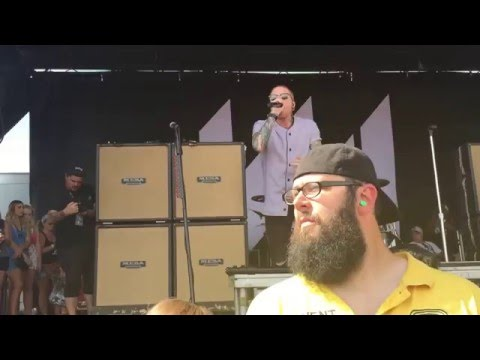 My Generation - Memphis May Fire (Vans Warped Tour 2015, SLC)
