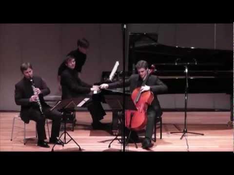 Brahms Clarinet Trio 3rd Mvt (Sebastian Manz, Charles-Antoine Duflot, Martin Klett)