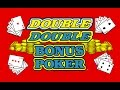 Video Poker - Four Strategy Adjustments in Double Double Bonus