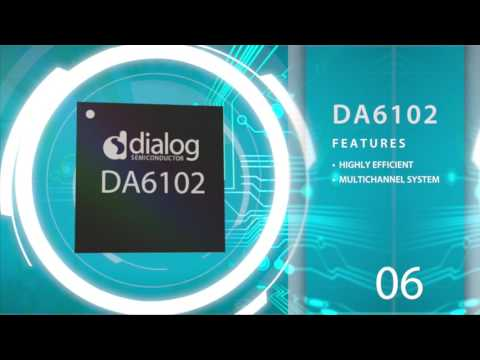 DA6102, a highly efficient and flexible multi-channel system PMIC for 2-cell systems