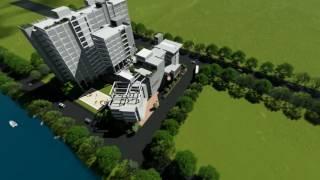 Permanent Campus 3D Model of World University of Bangladesh.