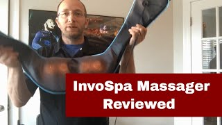Invospa Shiatsu Back Neck and Shoulder Massager with Heat Review