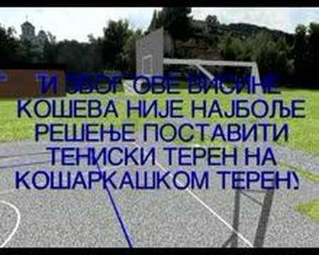 Plan teniskog terena
