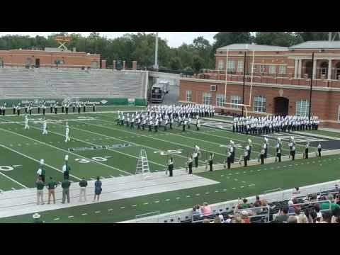 2016 UNC Charlotte 49ers Marching Band Debut 2016 part 1