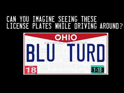 Ohio's rejected vanity license plates and why
