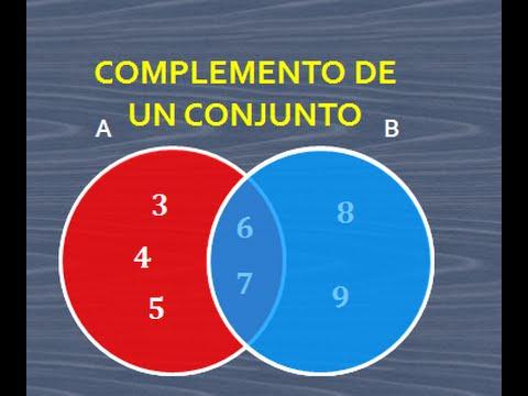 Complemento de un conjunto operaciones con conjuntos diagrama de complemento de un conjunto operaciones con conjuntos diagrama de venn youtube ccuart Image collections