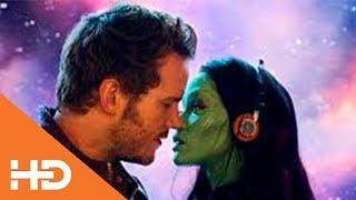 Танец Звездного Лорда и Гаморы | Стражи Галактики (2014)