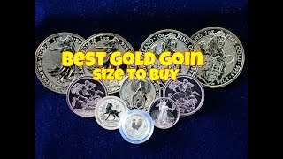 Best Gold Coin Size To Buy