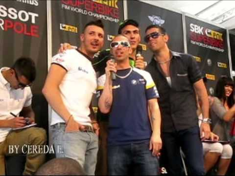 Monza,World Superbike 2013 Riders perform --KARAOKE and TABLE-FOOTBALL--