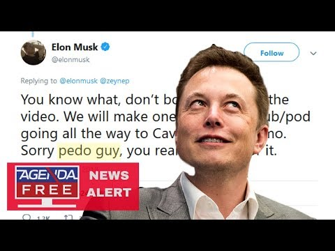 "Elon Musk Calls Thai Cave Rescuer ""Pedo Guy"" - LIVE COVERAGE"