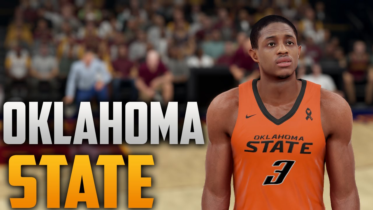 new arrival 118f8 69842 NBA 2K16 Oklahoma State Cowboys Jersey & Court Tutorial