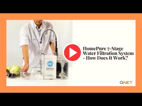 HomePure 7-Stage Water Filtration System - How Does It Work?