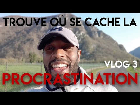 Ou se cache la procrastination #Vlog 3 (jean pierre Padou)