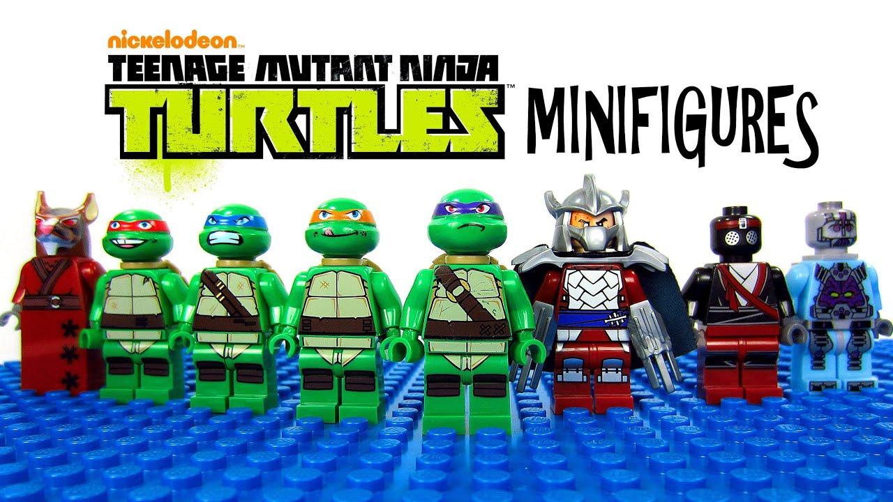 LEGO Teenage Mutant Ninja Turtles KnockOff Minifigures Set 1