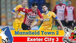 Mansfield Town 2-3 Exeter City - Sky Bet League 2 Highlights 2014/15