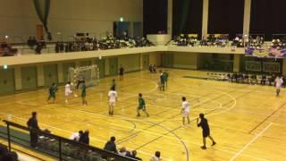 平成27年度 第55回 長野県総合ハンドボール選手権大会 準決勝 Nagano Yeti VS  如月クラブ 前半