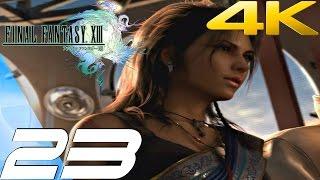 Final Fantasy XIII - Walkthrough Part 23 - Cid Raines Boss & Bahamut Eidolon [4K 60FPS]