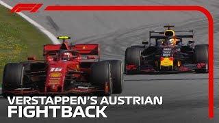 Verstappen's Stunning Fightback | 2019 Austrian Grand Prix