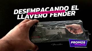 Llavero Fender Key Holder Jack Rack / Unboxing - PromosOnlineMX