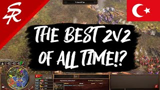 The Best 2v2 of All Time?! | Age of Empires III