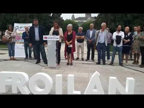 Lara Méndez presenta el programa de las fiestas del San Froilán