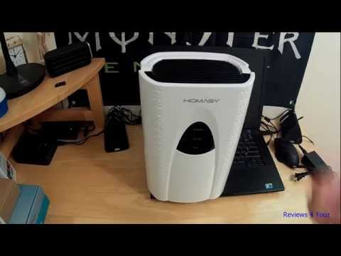 Homasy dehumidifier - YouTube