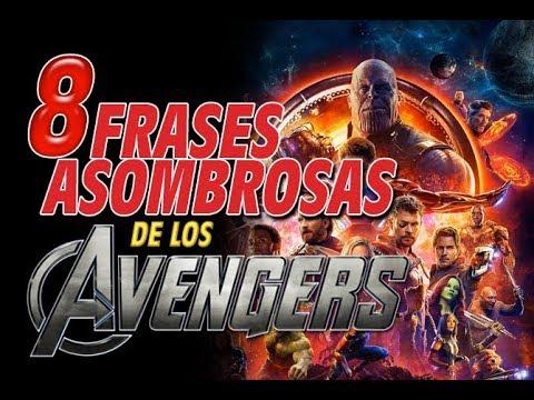 Video Motivación 8 Asombrosas Frases De Los Avengers