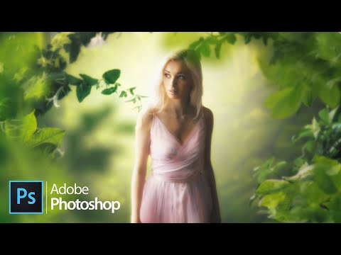 Light Forest - FREE PSD DOWNLOAD (Photoshop CC 2020)