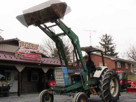 ford 8600 tractor loadmaster loader 2wd on ebay youtube. Black Bedroom Furniture Sets. Home Design Ideas