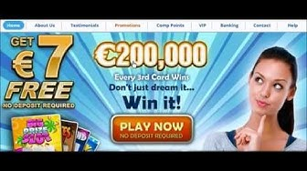 €7 Free Online ScratchCards No Deposit Required Win Real Money