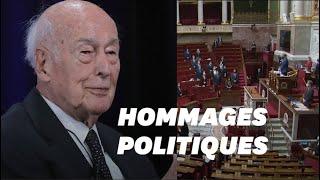 Valéry Giscard d'Estaing est mort, hommages et minutes de silence