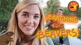 Searching for Beavers! (Part 1) | Maddie Moate