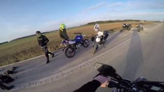Motovlog   Yamaha Wr125x   Probefahrt   Takkoni Esd ohne DB Killer!🤔