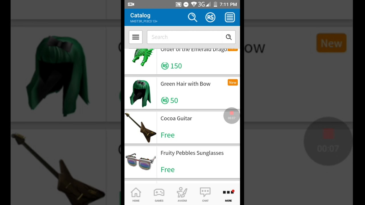 Free Items In Roblox 2017 2018 Youtube