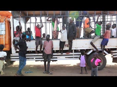 Уганда: Южносуданские беженцы