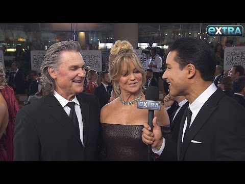 Kurt Russell & Goldie Hawn on Their Date Night at the Golden Globes