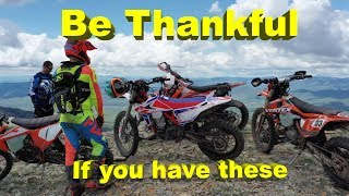 If You Have A Dirt Bike Be Thankful