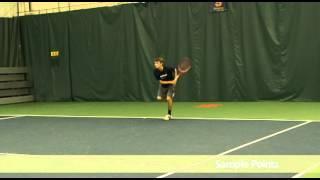 Abraham Davis Tennis Video