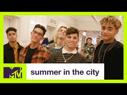 PRETTYMUCH Answer 25 Questions In 25 Floors | Summer in the City | MTV
