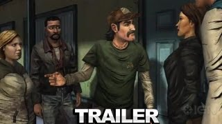 The Walking Dead: The Game: Ep. 3 Gameplay - Long Road Ahead Trailer
