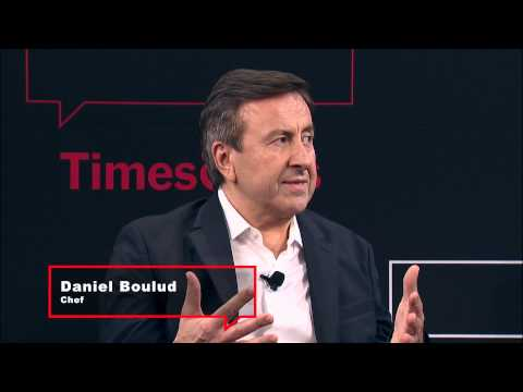 Daniel Boulud, Alain Ducasse, Eric Ripert | Interview | TimesTalks