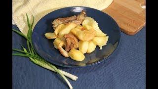 Картошка в духовке по-немецки. Proude.