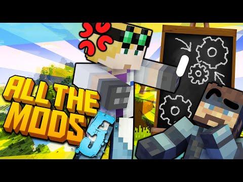 Minecraft All The Mods - TEACHING CREATE MOD #16